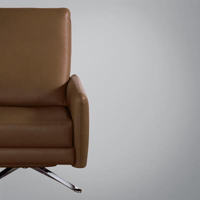 Stupendous American Leather Short Links Chair Design For Home Short Linksinfo