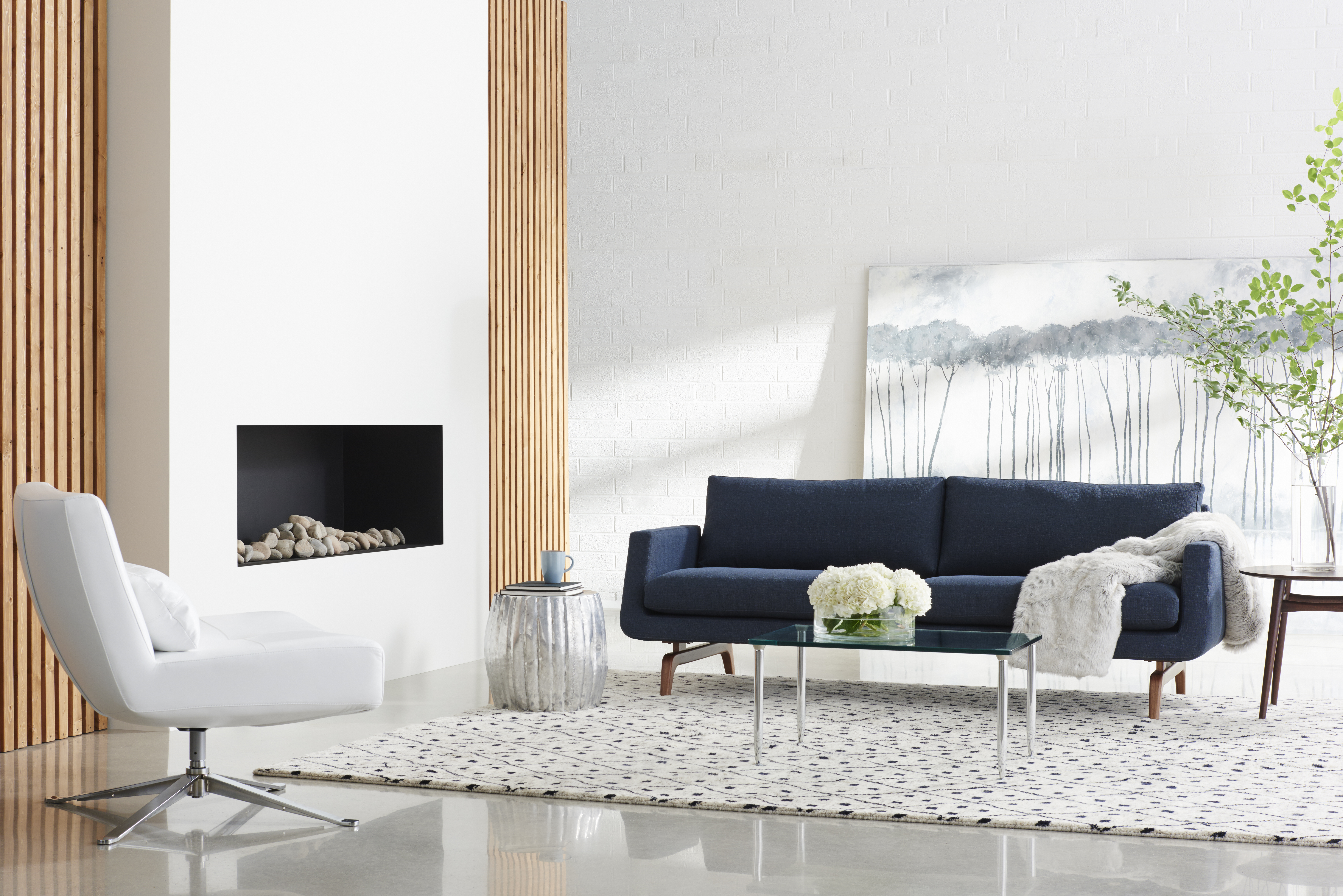 Nash Sofa and Hugo Chair
