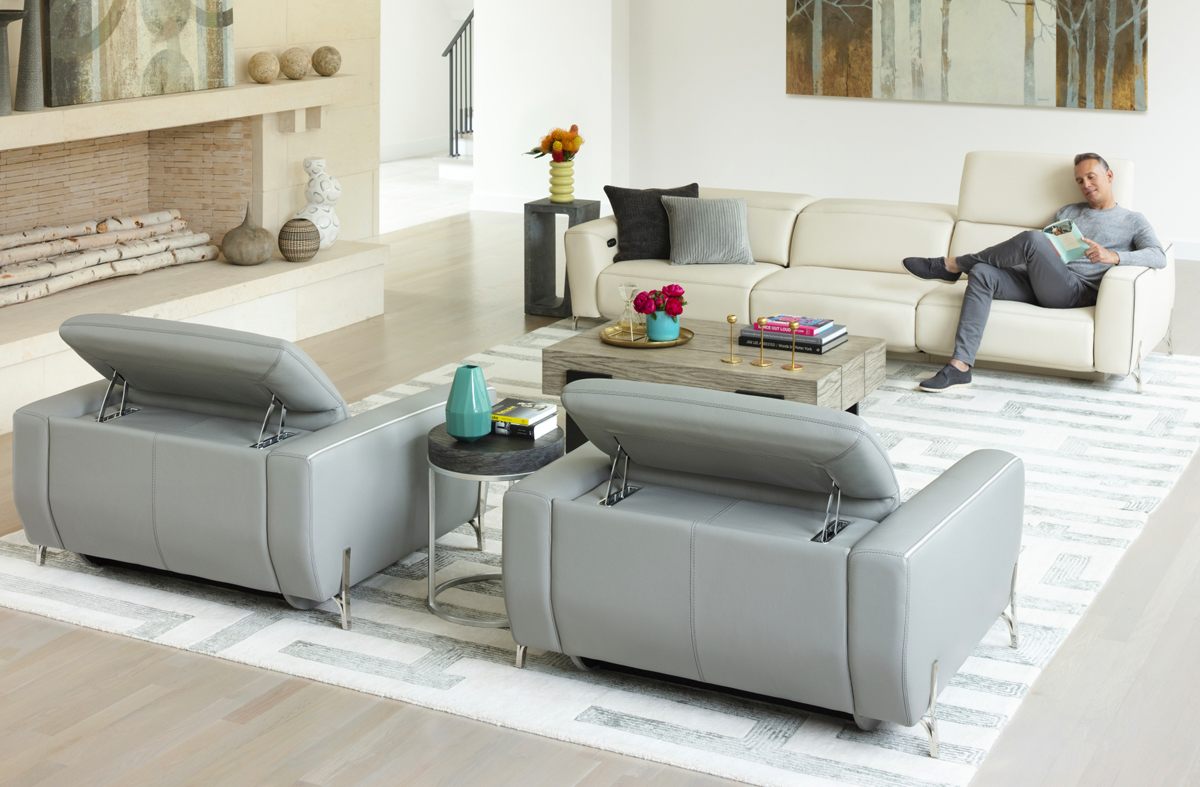 power reclining sofa and chairs